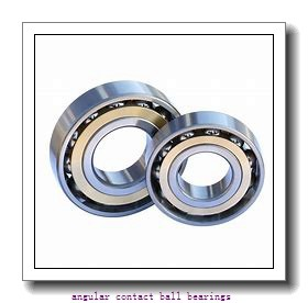 0.669 Inch | 17 Millimeter x 1.575 Inch | 40 Millimeter x 0.689 Inch | 17.5 Millimeter  CONSOLIDATED BEARING 5203-2RS  Angular Contact Ball Bearings